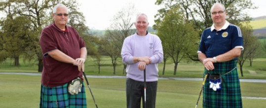 Tartan Army Sunshine Appeal Charity Kilted Golf Day